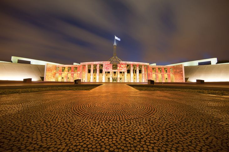 Parliament of Australia. ...Canberra our National Capital City