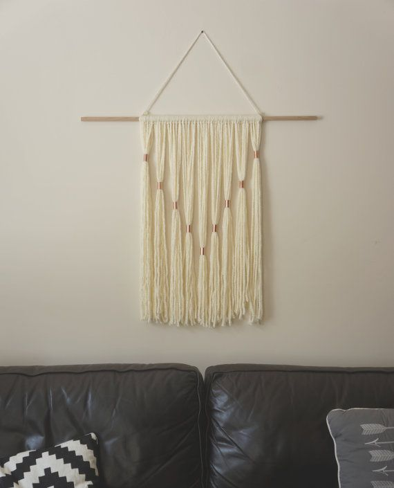 Modern Tapestry by LittleByrds on Etsy, $45.00 #home #decor