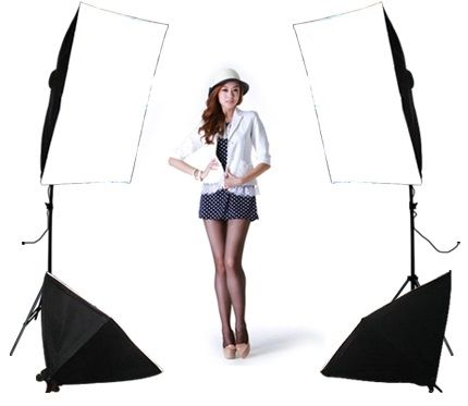 99.06$  Buy here - http://alip2u.worldwells.pw/go.php?t=32560526456 - FREE SHIPPING single lamp softbox 4 lamp set photography light softbox set photographic equipment Photo Studio Equipment Set 99.06$