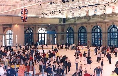 Alexandra Palace Ice Rink  Someday I'll get over my fears and learn how to skate. on ice.