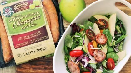 Grimm's Okanagan Apple Sausage Salad