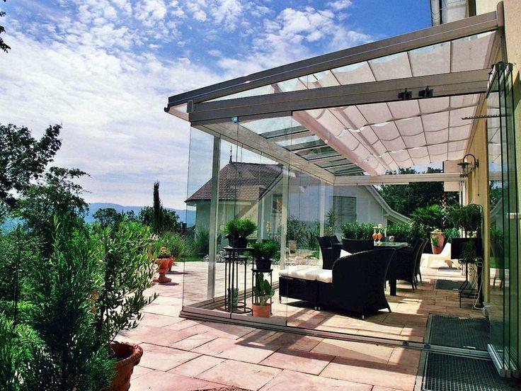 25 best ideas about terrassendach glas on pinterest. Black Bedroom Furniture Sets. Home Design Ideas