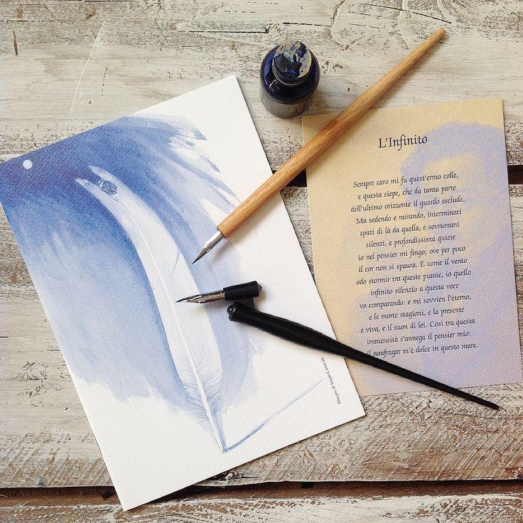 #calligraphy #handmadepaper #paper  Per imparare la calligrafia occorre anche un bel quaderno www.tuoscrapbookinghomely.bigcartel.com