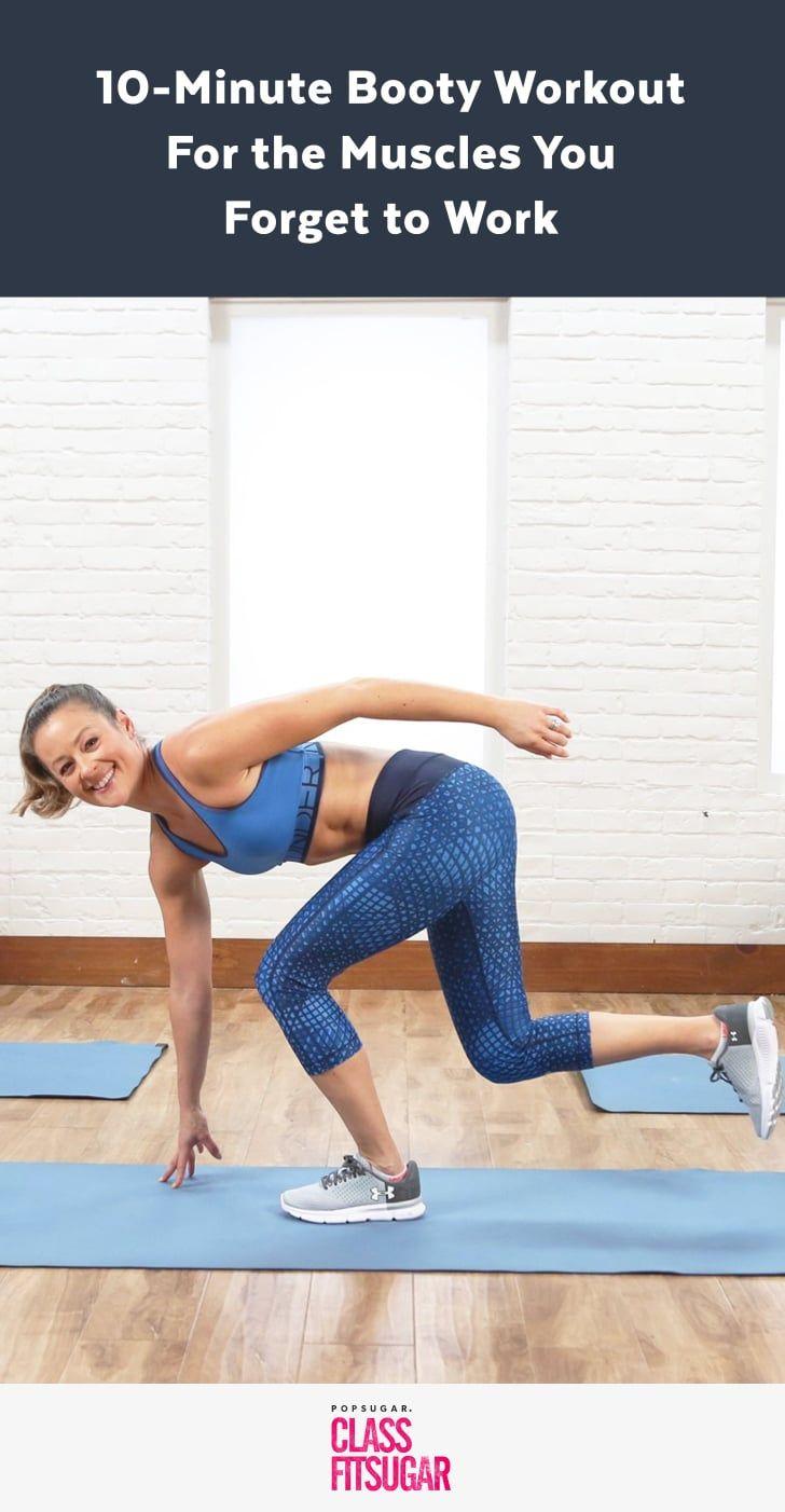10-Minute Bodyweight Butt Workout