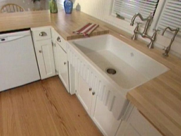 Installing A Farmhouse Sink : farmhouse sink (not this one) but this will at least show me how ...