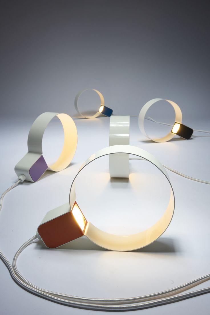 Direct light plate table lamp - Zava