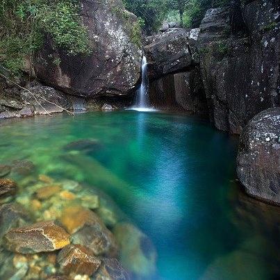 Rio Claro en Iúna - Estado do Espirito Santo.