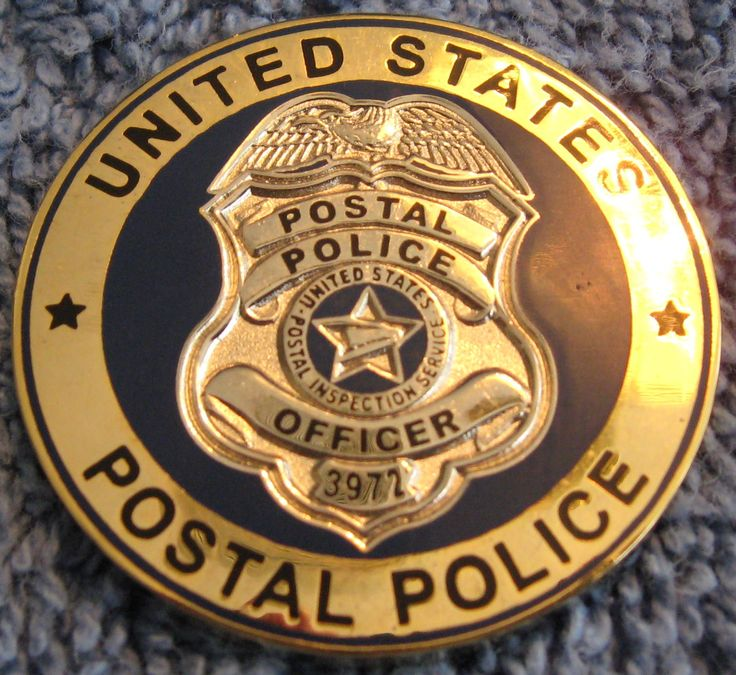 Postal Police Badges.....where are these guys when we need them?