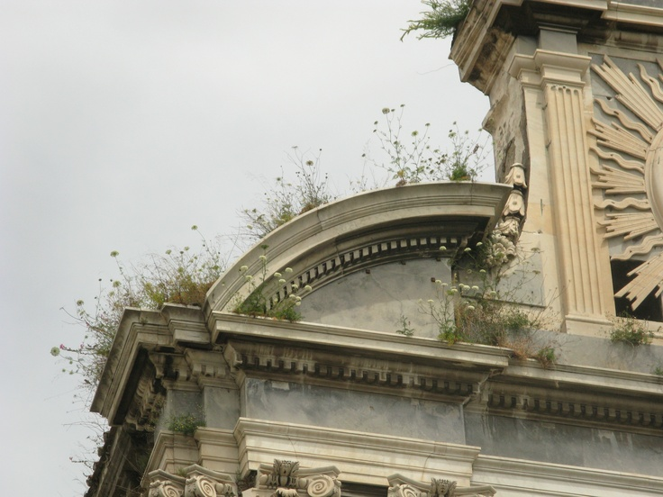 church in central Naples  photographed by Kevin McCloud