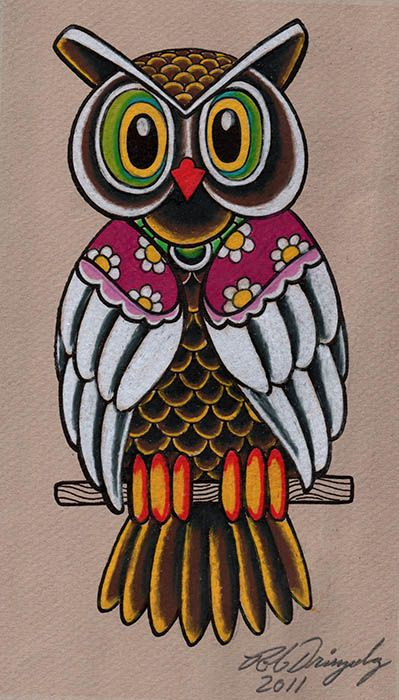 'Dringenberg Owl' by Rob Dringenberg