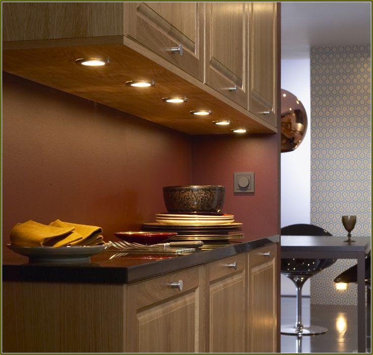 Small Kitchen Ideas Glamorous Stylish Modern Wooden Kitchen Cabinet Under Light Cabinet Brown Painted Wall Backsplash Glass Plates Bowls Black Granite Countertops Under Kitchen Cabinet Lighting