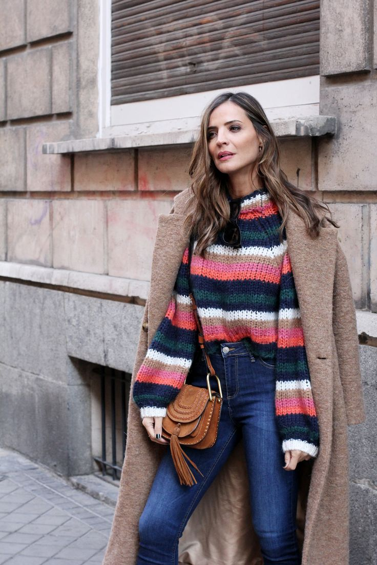 striped sweater looks - Lady Addict