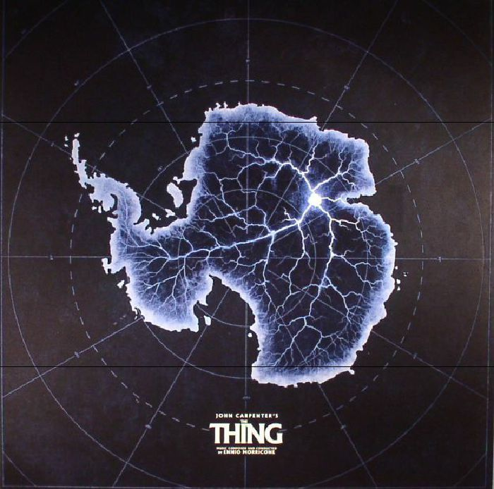 The artwork for the vinyl release of: Ennio Morricone - The Thing (Soundtrack) (remastered) (Waxwork) #music Leftfield