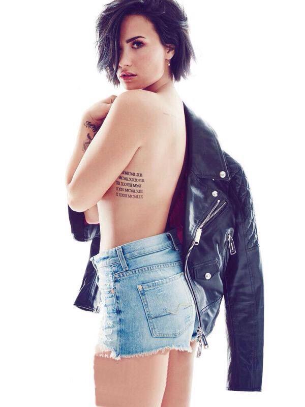 Demi Lovato - Cosmopolitan