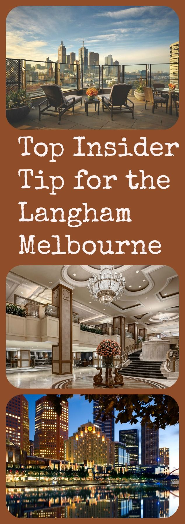 If you want to make the most of your stay at The Langham, Melbourne, I have a hot tip for you. As well as sharing this Langham's own special 1865 ritual.