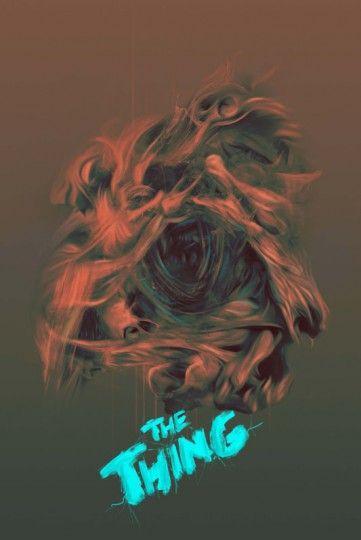 The Thing Coś - plakat premium
