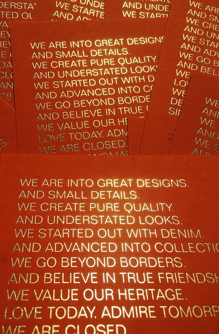 Great design with a hot foil embossing in gold on Römerturm Colorplan | Letterpress Manufaktur Hamburg
