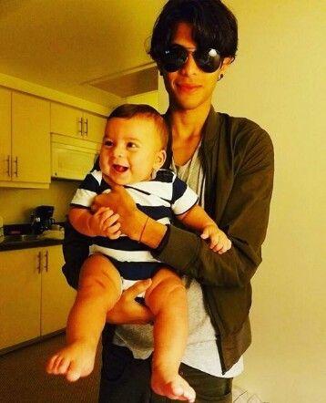Mi sobrino y mi novio ❤️❤️❤️