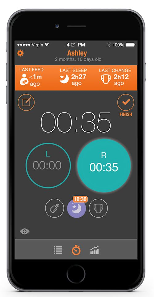 Track your baby's health with the BabyTime app! A great resource for new and experiences moms. (sponsored)