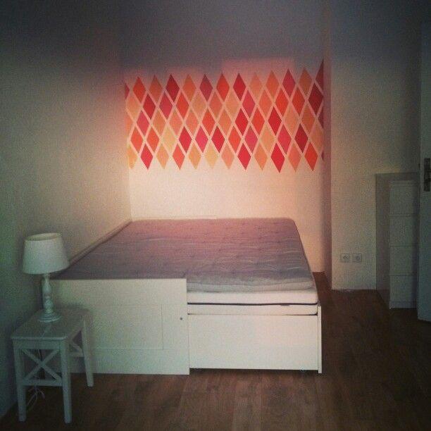 Happy bedroom wall