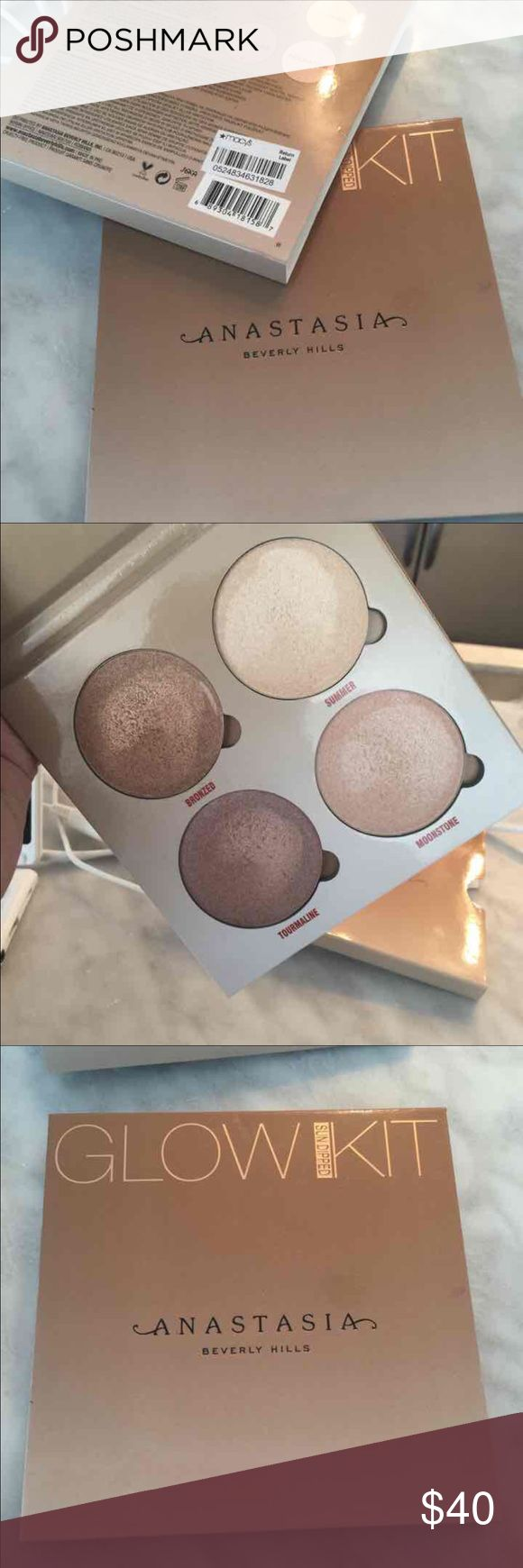 Anastasia Bh Glow kit Buttery Smooth Feels Great Nice Colors 😍 PRICE IS FIRM Anastasia Beverly Hills Makeup Bronzer