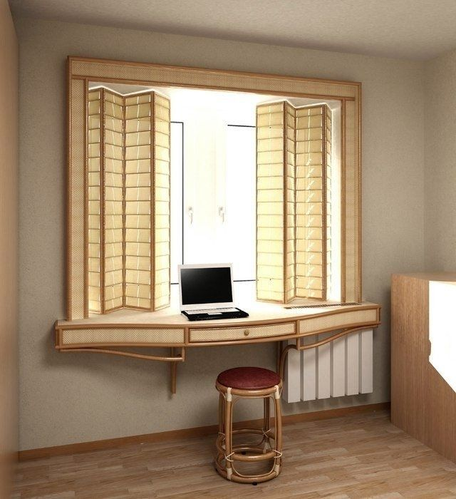 Рабочее место - минимум мебели