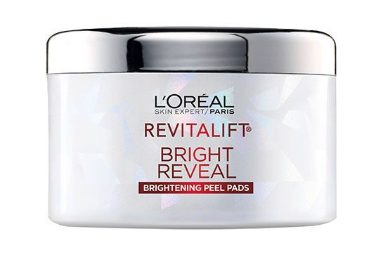Exfoliation over-achievers, pay attention: These gentle pads yield an even more radiant complexion. L'Oréal Revitalift Bright Reveal Brightening Peel Pads, $19.99, available in July at CVS.   #refinery29 http://www.refinery29.com/2016/06/114987/new-cvs-makeup-products#slide-10