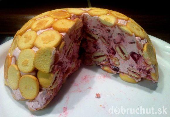 Fotorecept: Čerešňová krtkova torta