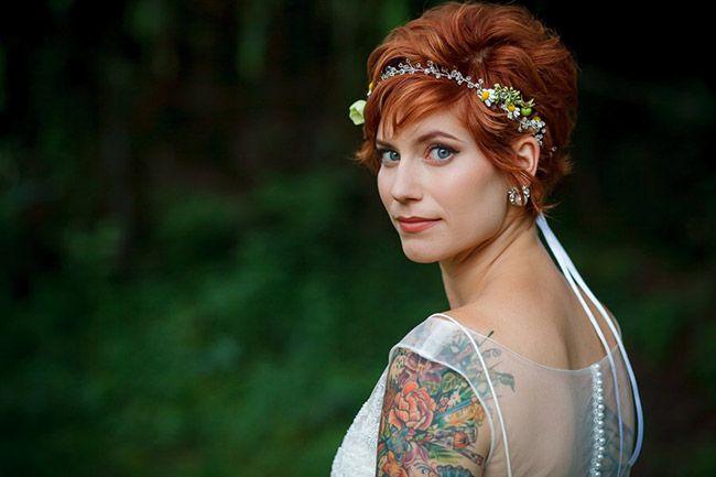 Sélection de 21 superbes mariées tatouées – Inkage