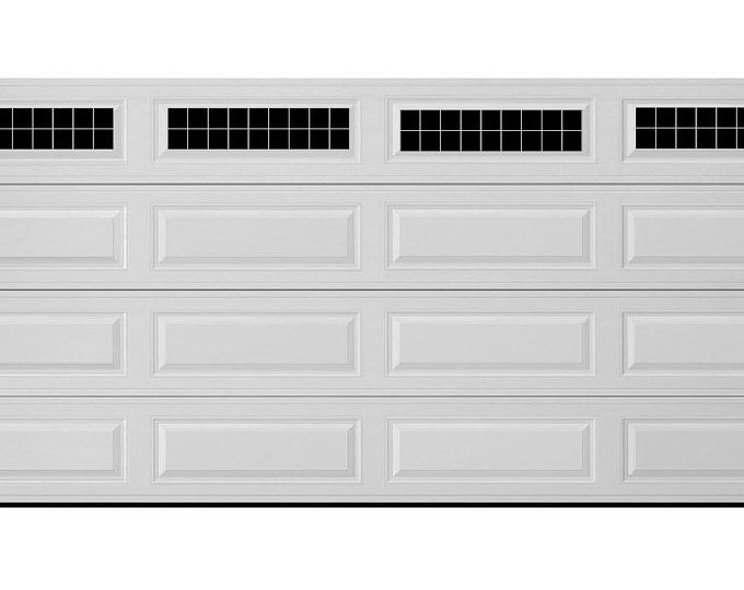 Craftsman Style Faux Garage Door Windows Vinyl Decals No Faux Hardware Included Garage Doors Faux Garage Door Windows Garage Door Hardware