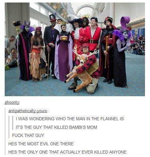 Evil Disney characters