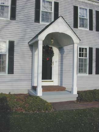 13 Best Exterior Door Pilasters And Pediments Images On Pinterest