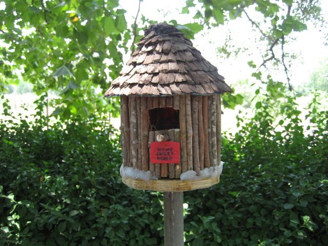 Plastic Coffee Container Birdhouse - Bing Images                              …