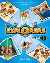 Actividades pdf para descargar Explorers 1º E.Primaria de Editorial Oxford