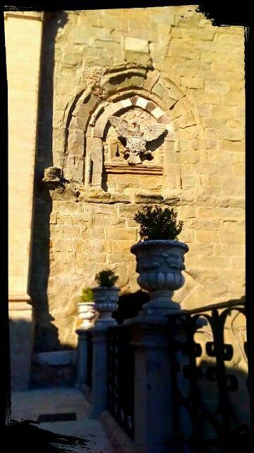 Torre normanna adiacente alla Chiesa di Maria SS Assunta e di San Giorgio ~ Troina