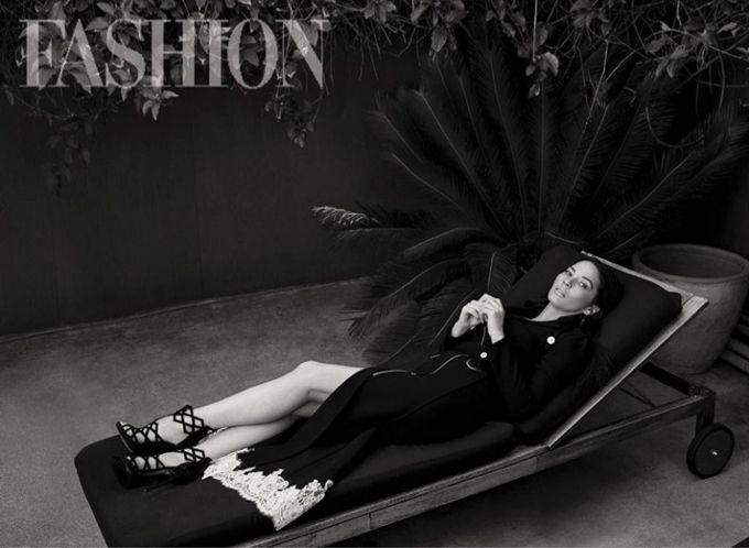 Оливия Манн в FASHION Magazine (Интернет-журнал ETODAY)