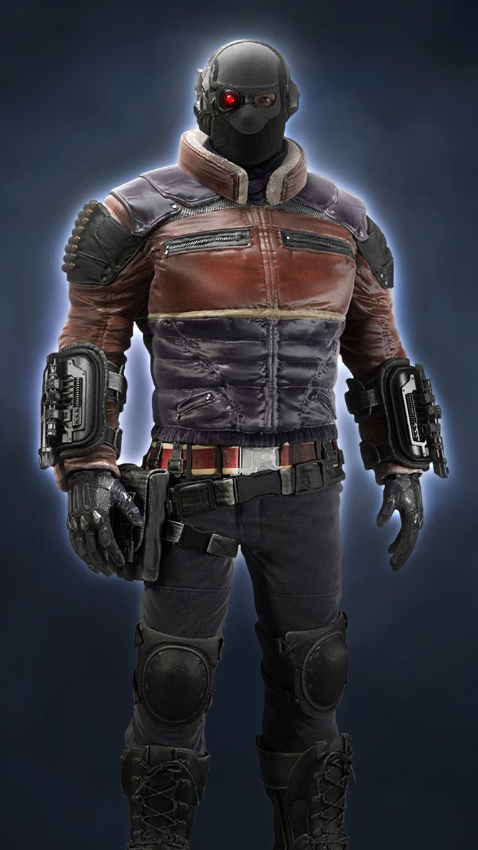 DEADSHOT Arkham Origins by JPGraphic.deviantart.com on @DeviantArt
