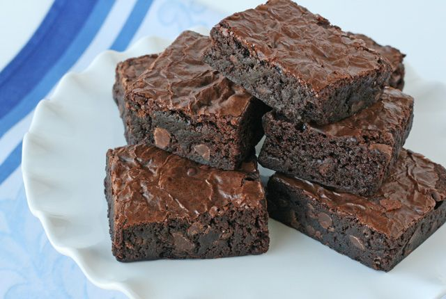 Perfect Homemade Brownies- by Glorious Treats