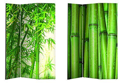 Paravent / Raumteiler / Spanische Wand / Trennwand versch. Motive (Bambus)