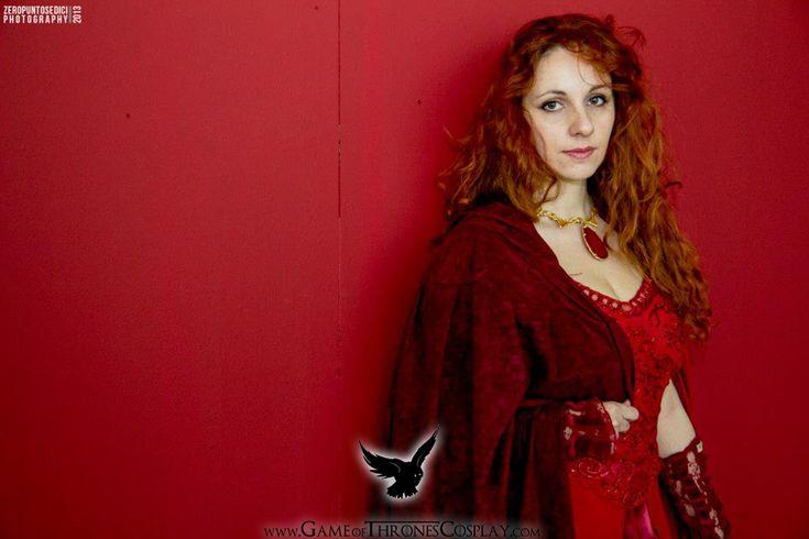 Red Priestess by CalamityJade.deviantart.com on @deviantART
