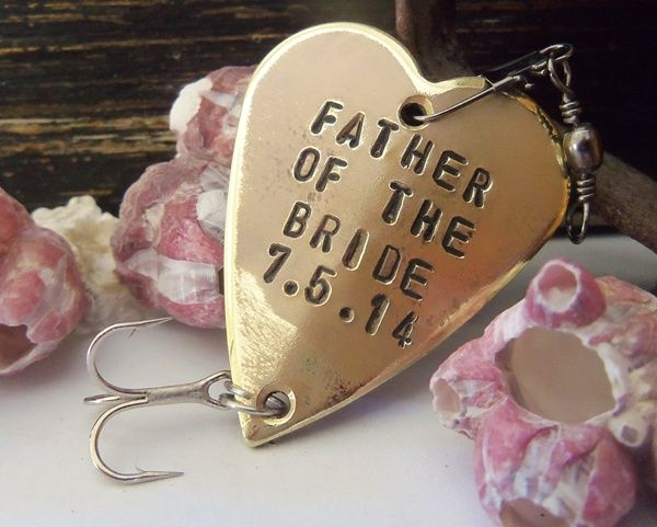 Father Of The Bride Fishing Lure Gift