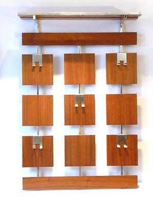 LOVE this coat rack. Coats, keys, purse holder.Original 1970s Teak Coat Rack Danish Modern Mid Century Wegner Atomic 60s Era