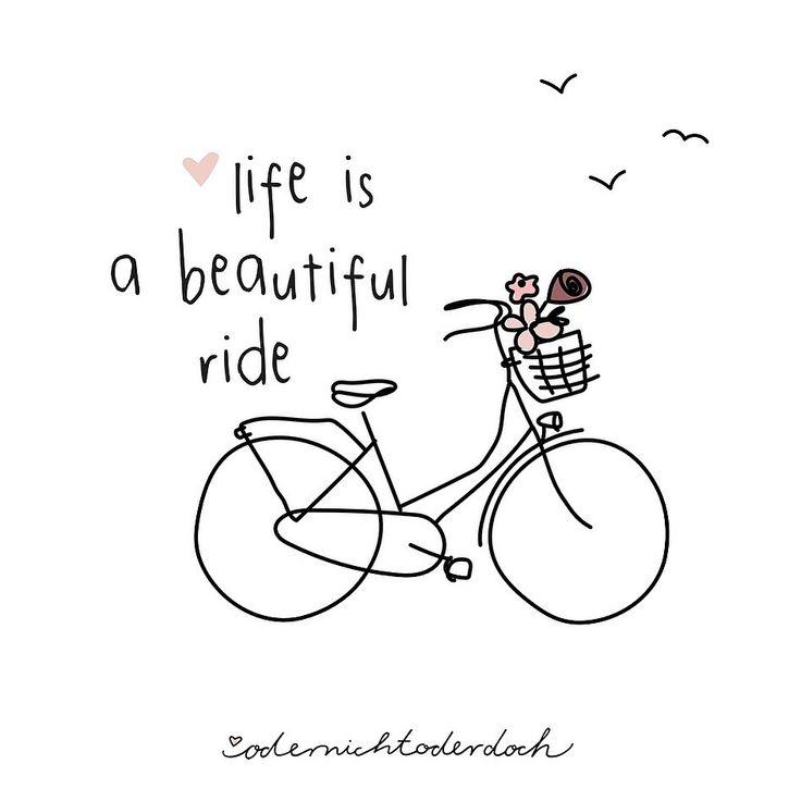 Wir wünschen euch allen einen schönen Tag!  💕   Odernichtoderdoch Fahrrad Blumen bikes & cities beautiful ride bicycle