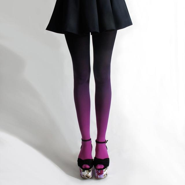 Tights 4: Fuschian and ambered tights
