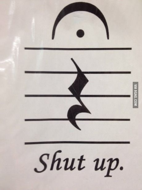 So my Music Theory AP teacher hung this up on the piano...