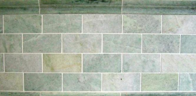 Ming Green Marble Tile : Ming green marble subway tile sf c line