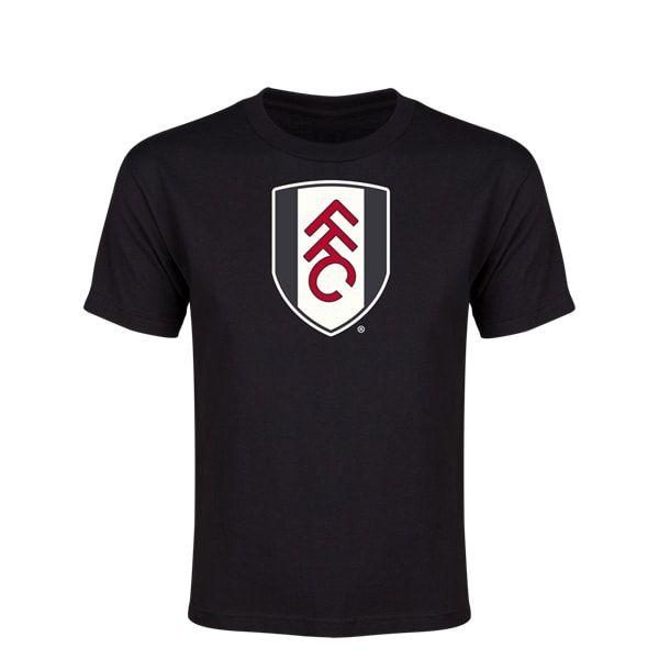 Fulham Core Youth T-Shirt (Black)