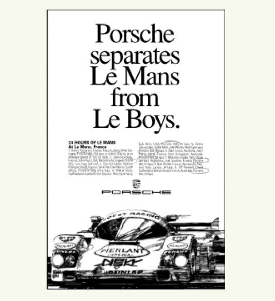 These Are The Best Porsche Print Ads