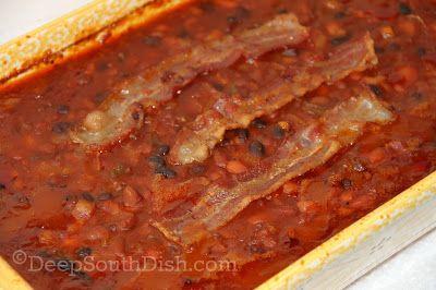 Deep South Dish: Baked Bean Medley (Calico Baked Beans)