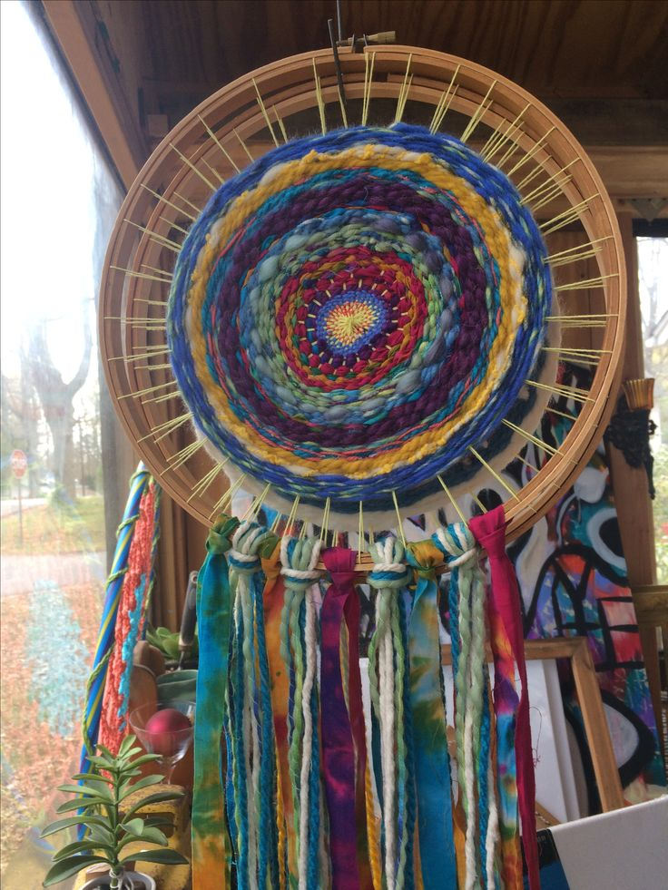 Weaving in the round